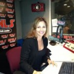 Lauren in the WLS Studio