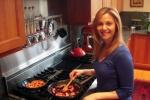 Lauren Cooking